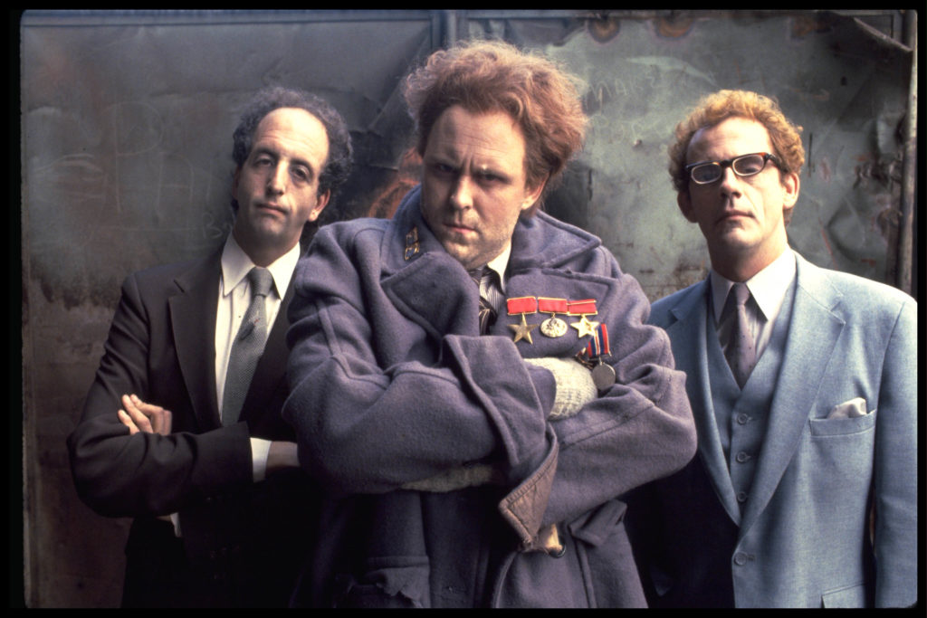 Vincent Schiavelli, John Lithgow, and Christopher Lloyd are from Planet 10.