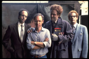 Director W.D. Richter and the aliens looking for a  way back to Planet 10.